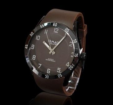 hebanowe drewniane zegarki